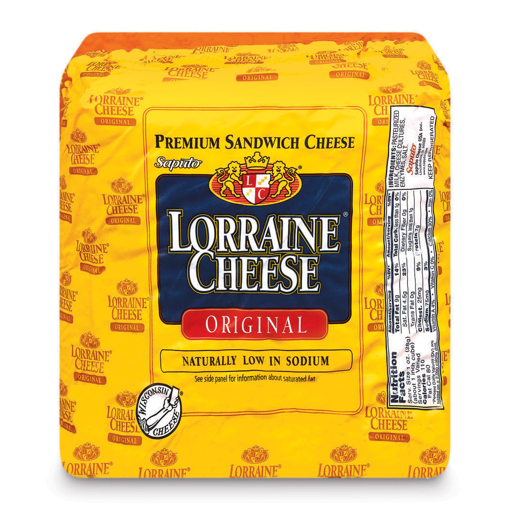 Lorraine Original Cheese, Deli Sliced
