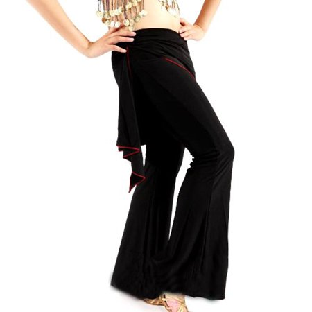 BellyLady Belly Dance Tribal Costume Pants, Yoga Salsa Ballroom Dance Pants (Ballroom Costumes)