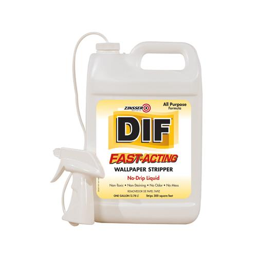 Zinsser & 02481 DIF 1-Gallon Fast-Acting Liquid Wallpaper Stripper