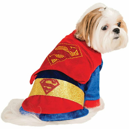 Superman Halloween Pet Costume (Multiple Sizes - Superman Costume For Dogs