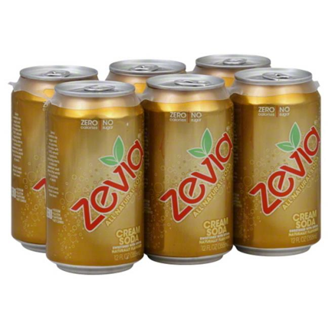Zevia Soda Cream, 72 fl oz,  - Pack of 4