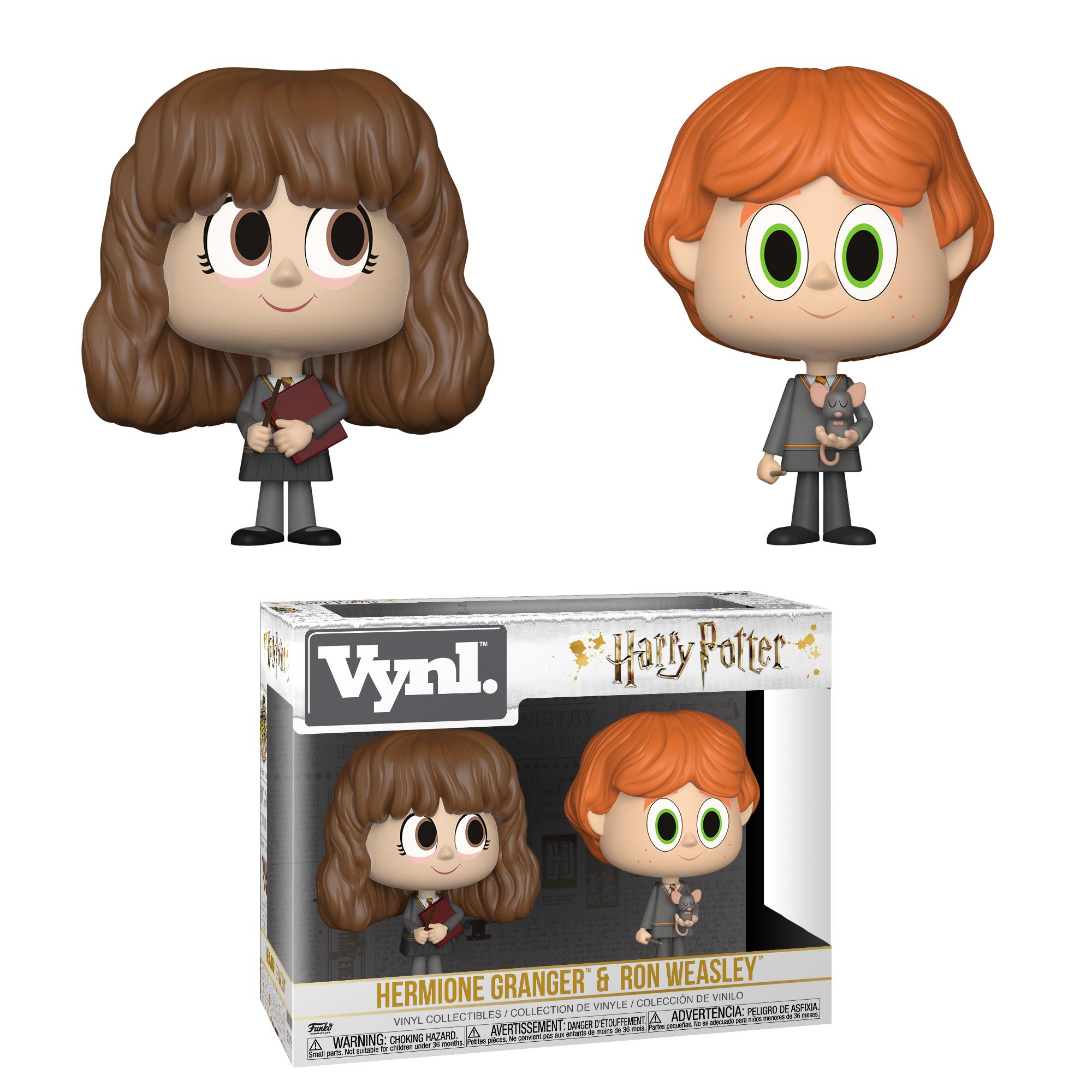 Funko VYNL: Harry Potter-2PK-Ron&Hermione
