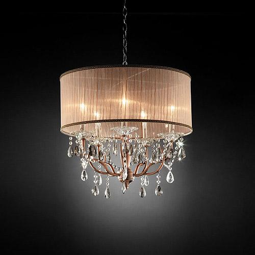Ore International Inc. Rosie Crystal Ceiling Lamp