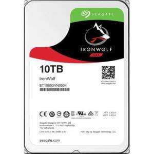 "Seagate IronWolf ST10000VN0004 10 TB 3.5"" Internal Hard Drive - SATA - 7200rpm - 256 MB Buffer 3.5IN 256MB"