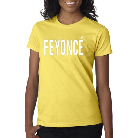 123 - Women's T-Shirt Feyonce White Letters