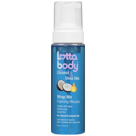 - LottaBody Wrap Me Foaming Mousse, 7 fl oz
