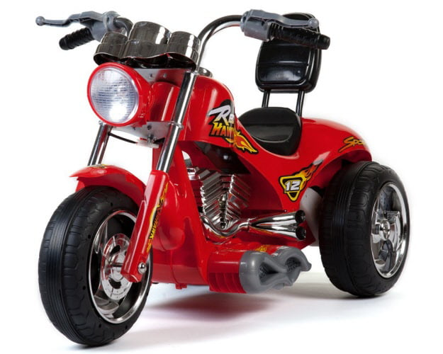 Mini Motos Red Hawk Motorcycle 12v Red by