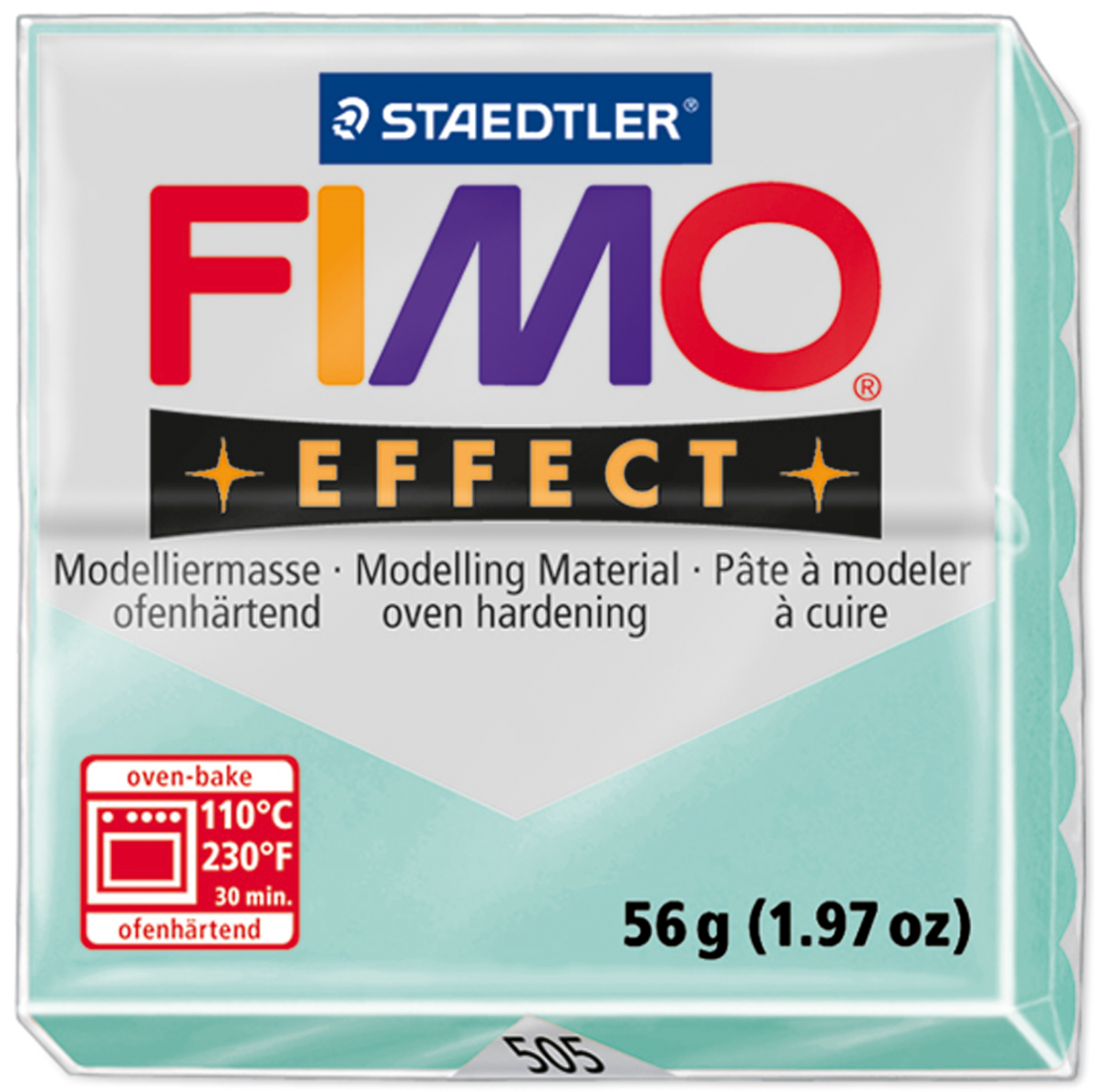 Fimo Effect Polymer Clay 2oz-Mint