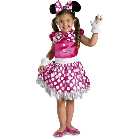 Disney Mickey Mouse Clubhouse Pink Minnie Mouse Costume (Mickey And Minnie Halloween Costumes Diy)