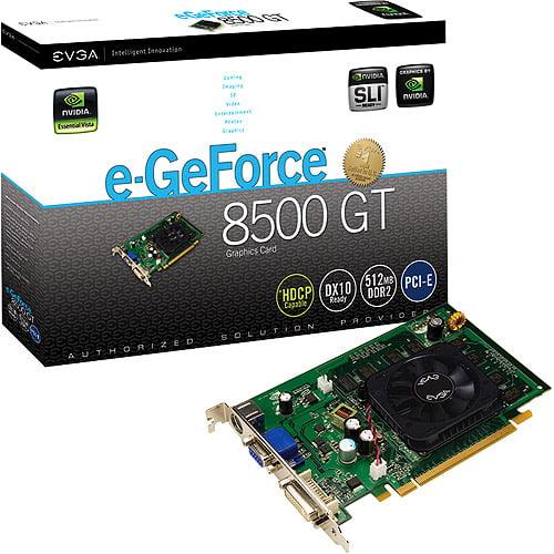 EVGA 512MB PCI-E GeForce 8500GT Graphics Card