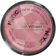 NYC New York Color Color Wheel Mosaic Face Powder, 723A Pink Cheek Glow, 0.32 oz