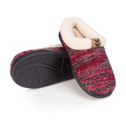 Pupeez Girls Winter slippers-knitted upper with fuzzy inside comfort-Little Kid Sizes 11 to 5-Style #9368