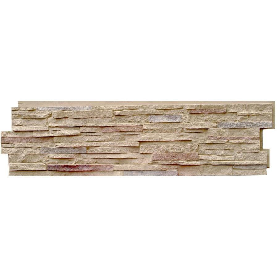 NextStone Faux Polyurethane Stone Siding Panel - Stacked ...