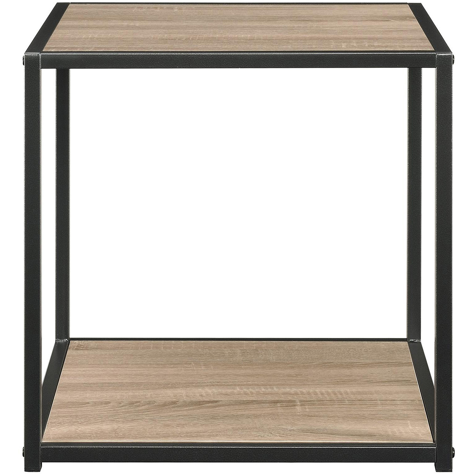 mason ridge end table with metal frame walmartcom