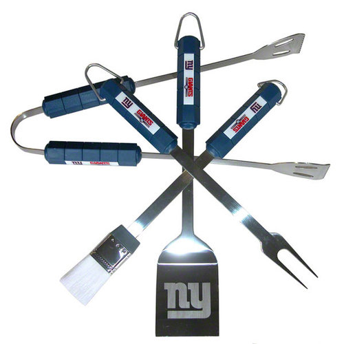 Siskiyou Products New York Giants Four Piece Barbeque Set