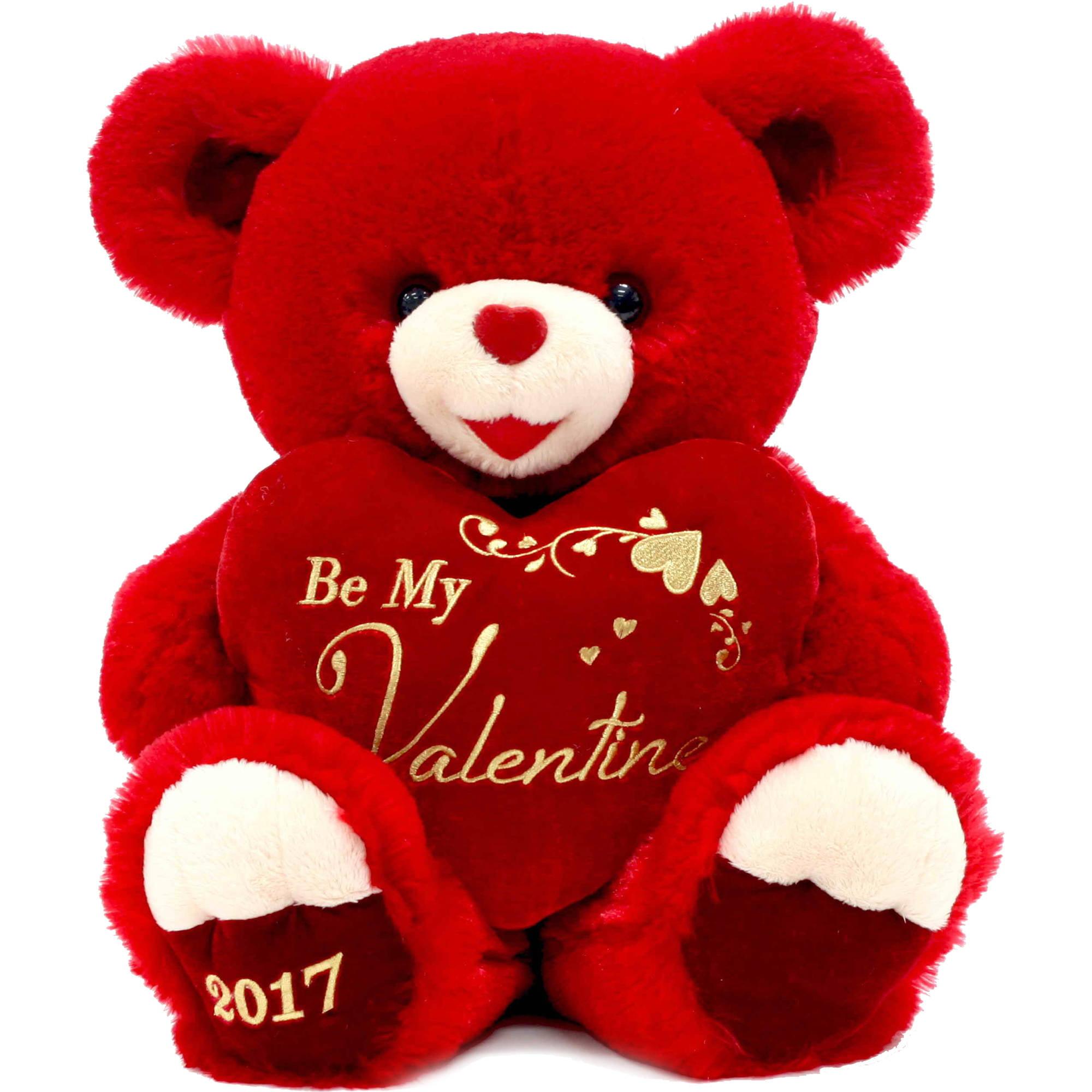 sweetheart teddy bear 14 brown walmartcom - Walmart Valentine Gifts