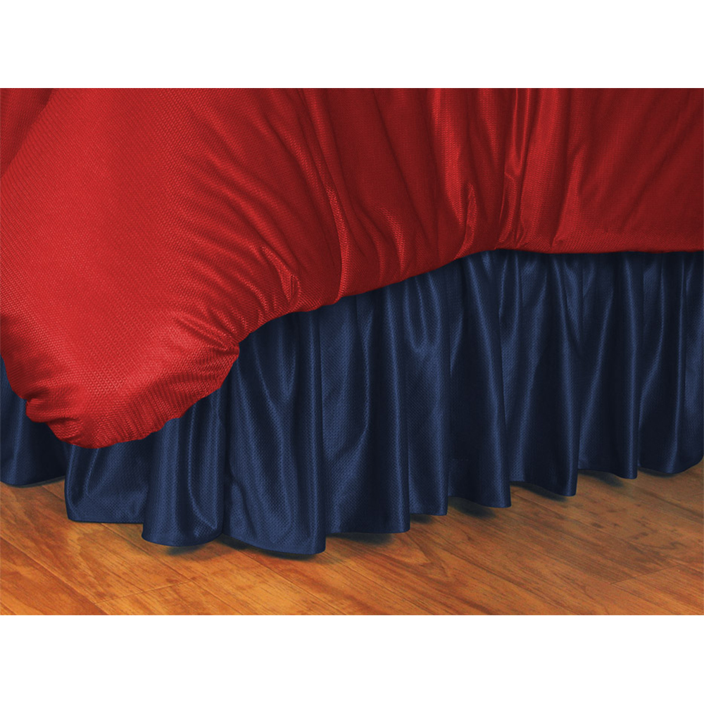 "Sports Coverage New York Yankees MLB ""Locker Room"" Collection Bed Skirt (Twin)"