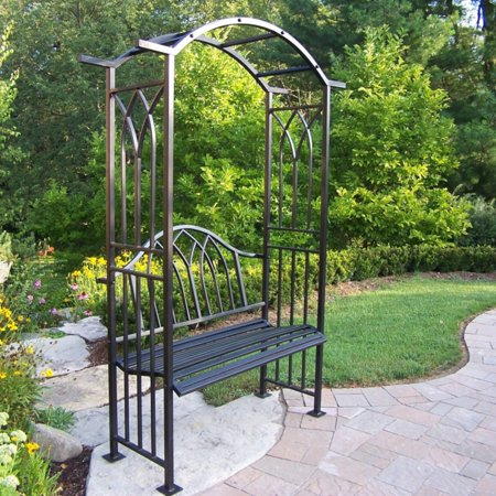 Enjoyable Oakland Living Outdoor Royal Arbor With Bench Pdpeps Interior Chair Design Pdpepsorg