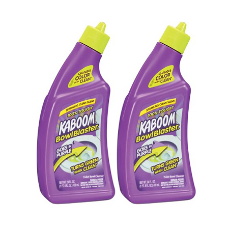 (2 Pack) Kaboom® Bowl Blaster® Toilet Bowl Cleaner 24 oz. Squeeze Bottle