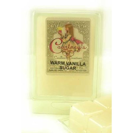 Warm Vanilla Sugar Mixer Melt Or Wax Tart By Courtneys Candles