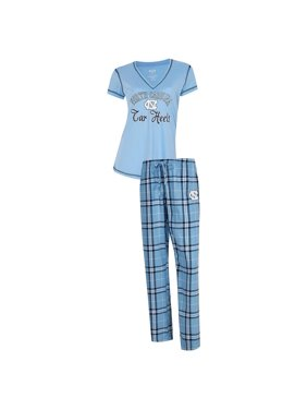 68b84571e6a Product Image North Carolina Tarheels UNC Women s Pajama Set Duo Sleep Set