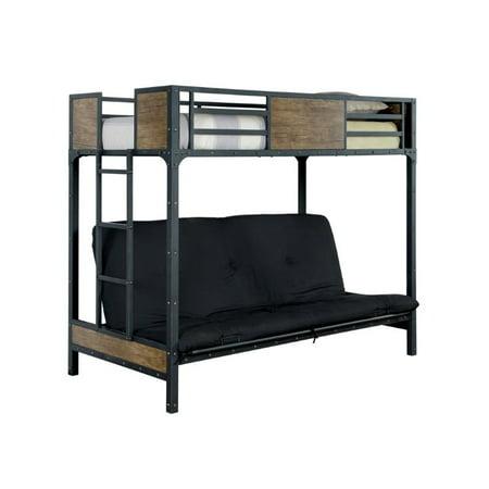 Furniture Of America Baron Twin Loft Bed In Black
