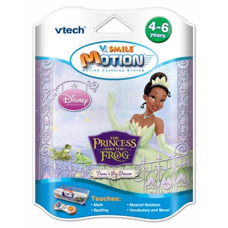 VTech V.Smile Motion: The Princess & The Frog (Princess And The Frog Baby Shower Invitations)