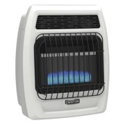 Dyna-Glo BFSS10LPT-2P 10,000 BTU Liquid Propane Blue Flame Vent Free Thermostatic Wall Heater