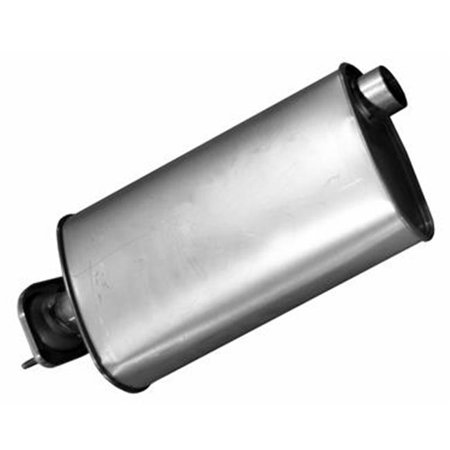 21456 Exhaust Muffler For 2000-2006 Jeep Wrangler - Silver (Muffler For Jeep)