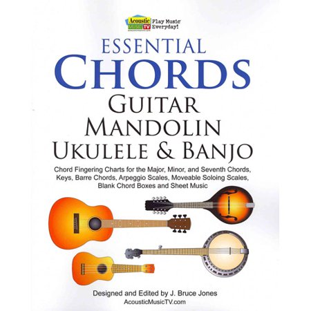 Mandolin movable mandolin chords : Essential Chords, Guitar, Mandolin, Ukulele and Banjo: Chord ...