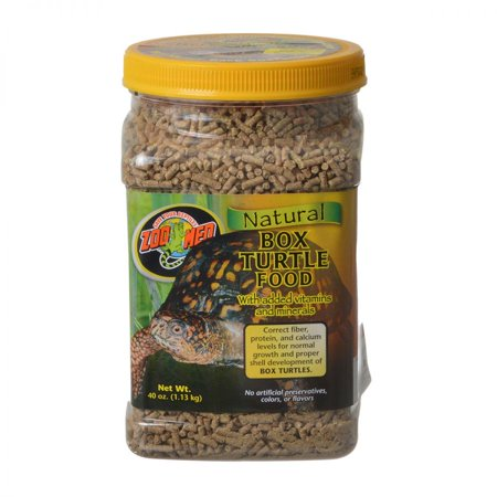 Zoo Med Natural Box Turtle Food - Pellets 40 oz (Natural Box Turtle Food)