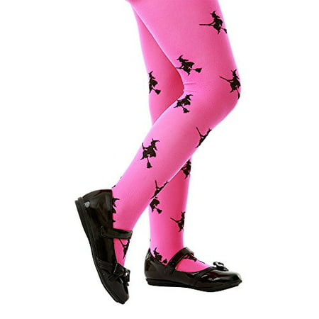 Boo! Inc. Pink Mid-Rise Witch Halloween Children's Cosplay Costume Tights (Halloween Boo Font)