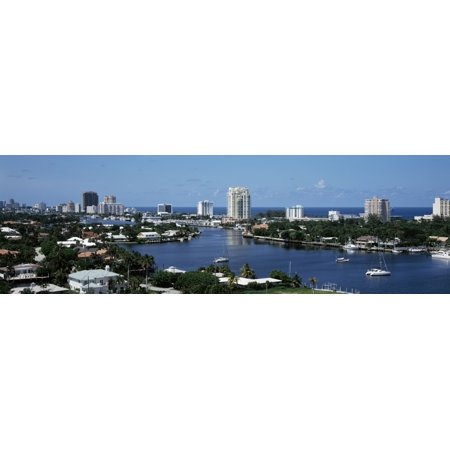 Fort Lauderdale Florida USA Stretched Canvas - Panoramic Images (27 x 9)