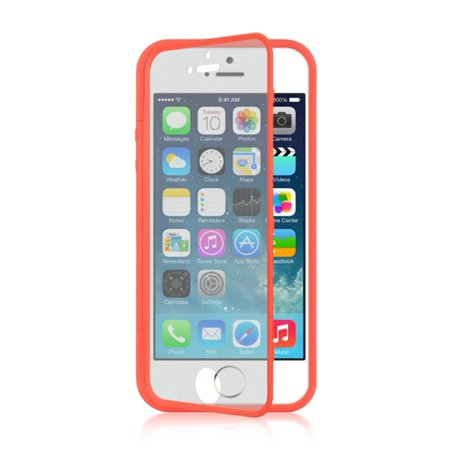 online retailer 0a9cc 3607b iPhone 5S Case, iPhone SE Case, by Insten Wrap-Up TPU Rubber Skin Gel Case  w/Screen Protector For Apple iPhone 5 / 5S