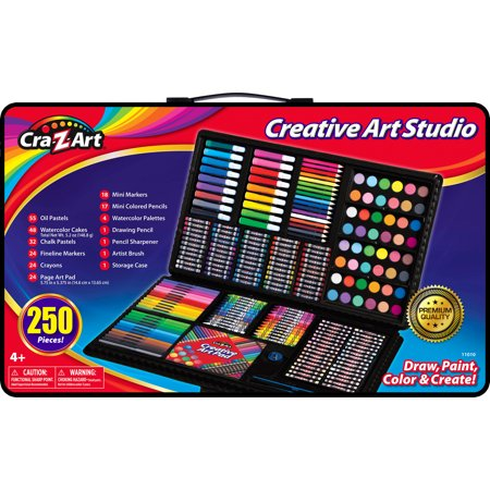 Cra-Z-Art Creative Art Studio - 250 Piece (Creative Ideas For Halloween Crafts)
