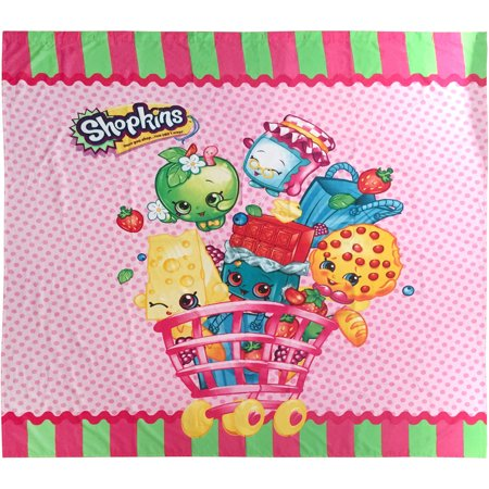 New 212615  72In Shopkins Shower Curtain (4-Pack) Shower Curtain Cheap Wholesale Discount Bulk Household Shower Curtain Candy Bag
