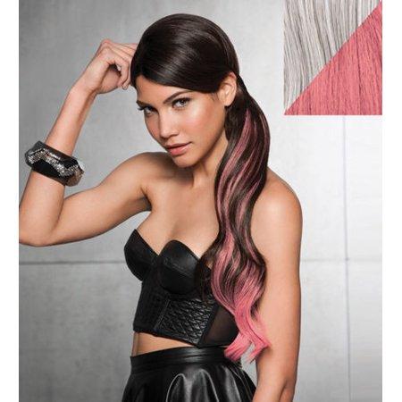 """Hairdo by Hair U Wear 23"""" Color Splash Pony R56/60 Pink"""
