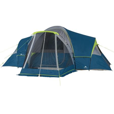 Ozark Trail 10 Person Modified Dome Tent with Screen Porch