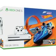 Microsoft Xbox One S 500GB Forza Horizon 3 Hot Wheels Bundle, White, ZQ9-00202