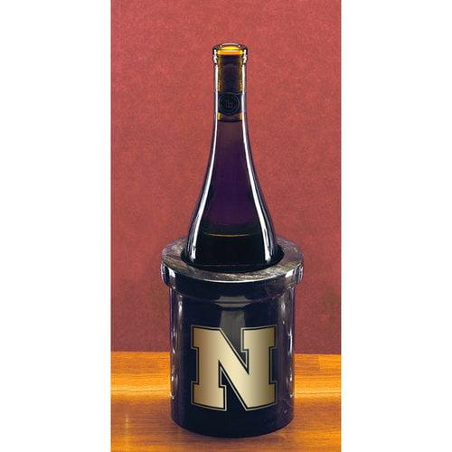 NCAA - Nebraska Cornhuskers Black Marble Wine Chiller