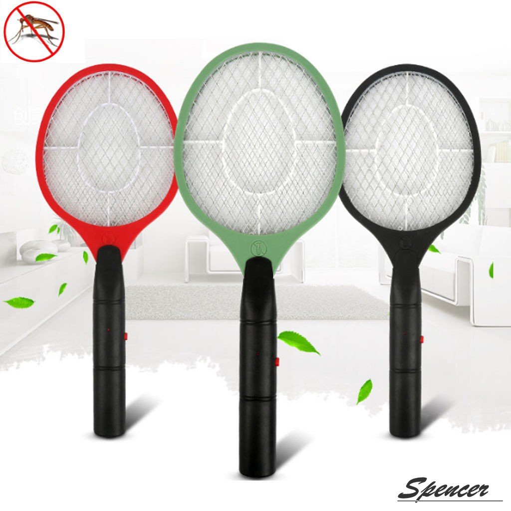 Spencer Electric Fly Swatter Killer Racket Bug Zapper for Mosquito & Insect Repellent Killer,Yellow