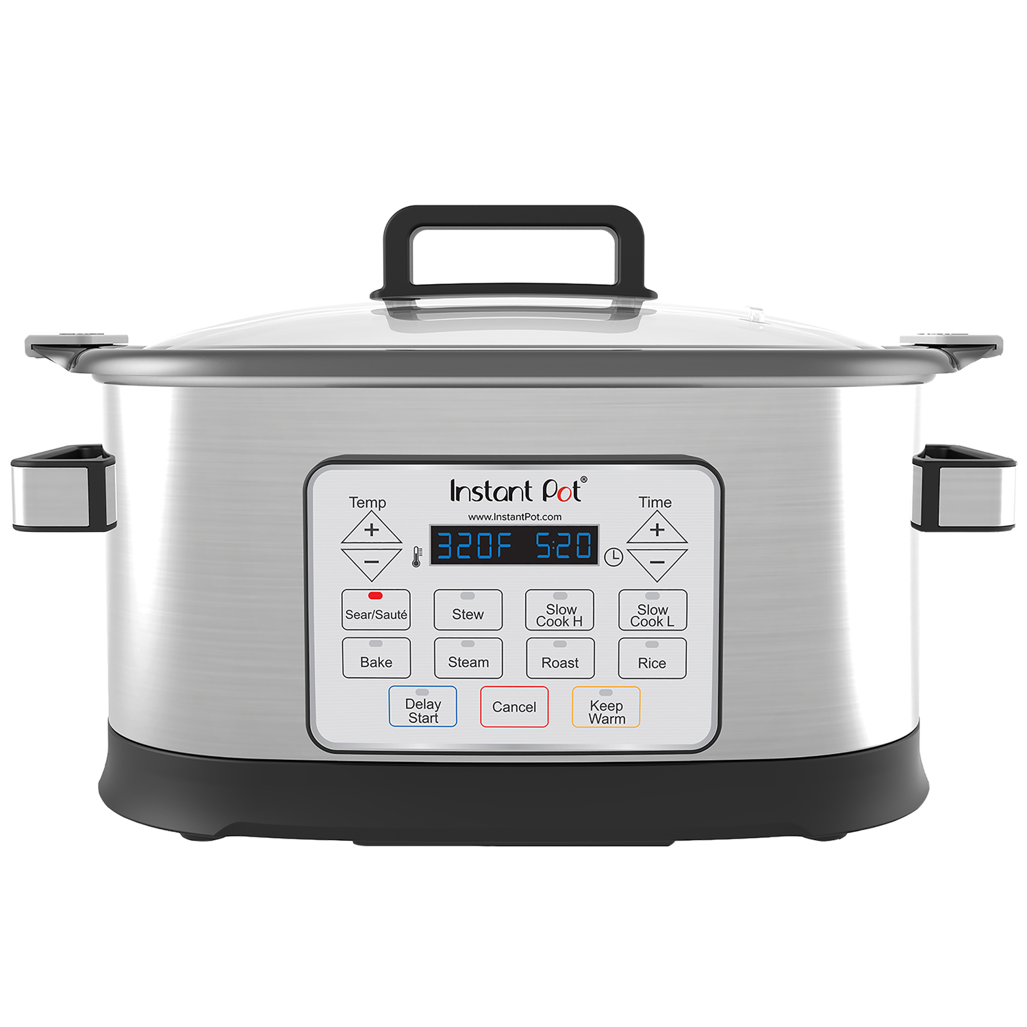 Instant Pot Gem 6 Qt 8-in-1 Programmable Multicooker, with Advanced Microprocessor Technology