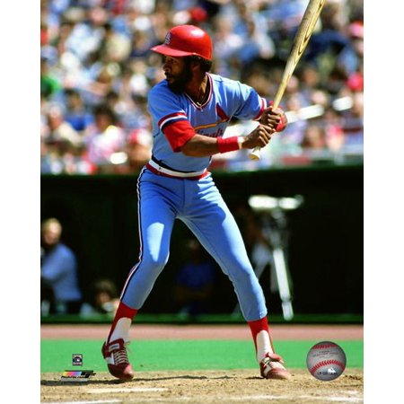 Ozzie Smith 1982 Action Photo (1982 Photo Press)