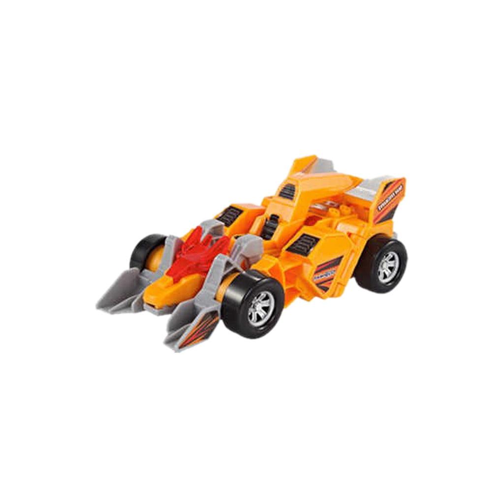Kids Toy Transformed Sounding Dinosaur Robot Car Anime Figurine Christmas Gift