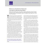 Performance Standards for Restaurants - eBook