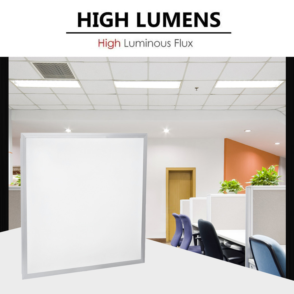 48W Recessed LED Panel White Light Office Lighting 600 x 600 TOP QUALITY