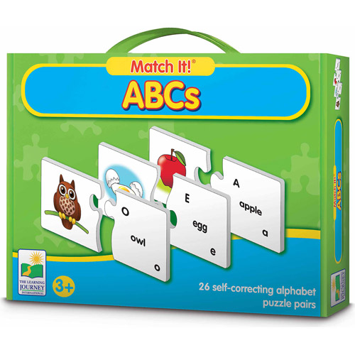 The Learning Journey Match It! ABCs