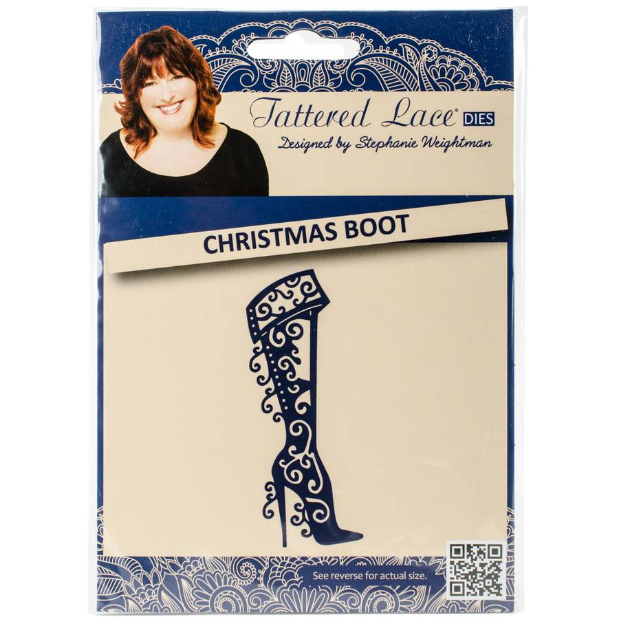 Tattered Lace Metal Die, Boot High Heel
