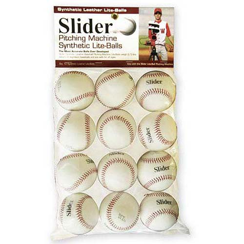 Heater Trend Sports Slider Lite Synthetic Leather Pitching Machine Baseballs