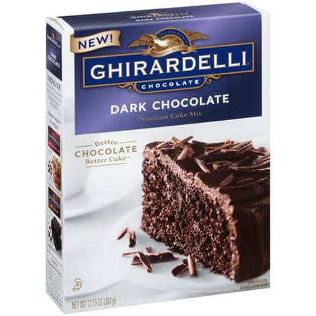 Ghirardelli Dark Chocolate Brownie Mix Instructions